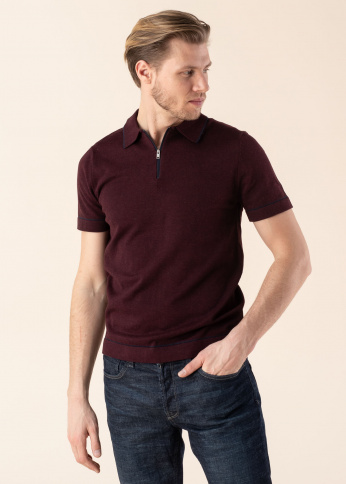 Selected Homme polo Zachery